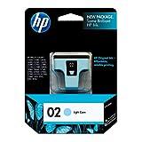 HP 02 | Ink Cartridge | Lite Cyan | C8774WN