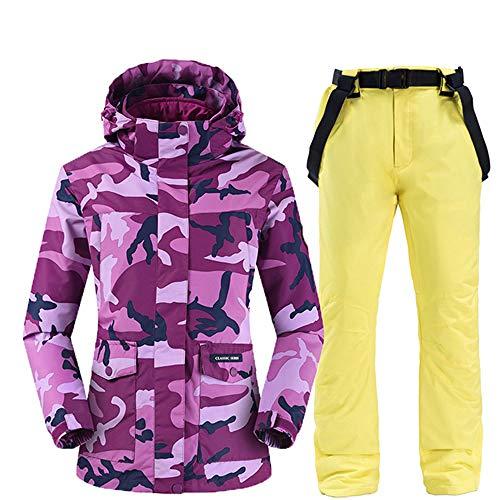 XFCMCP Winter Outdoor Sport Skiën Jas voor Vrouwen Ski Suit Winddicht Waterdichte Camouflage Snowboard Set Vrouwelijke Sneeuw Jas En Broek