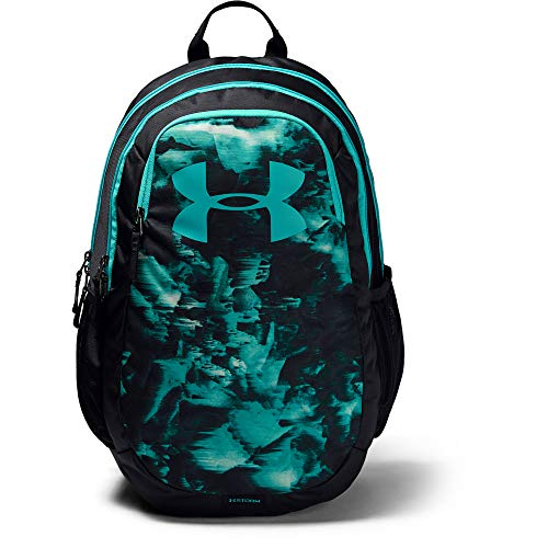 Under Armour Adult Scrimmage Backpack 2.0 , Black (003)/Breathtaking Blue , One Size Fits All
