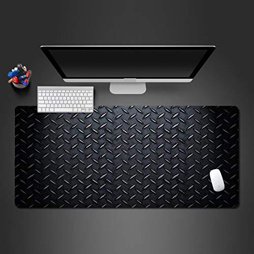alfombrilla de ratón grande Escritorio Gaming Grande XXL 700x300x3mm Patrón irregular negro Alfombrilla para Ratón PC Mouse Pad Impermeable Cojín de Ratón Antideslizante Mousepad para Videojuegos Port