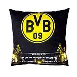 BVB Dortmund LED Kissen (one Size, schwarz)