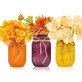 Harvest Mason Jars, Fall Centerpiece, Autumn...