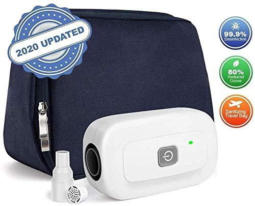ASDASD La máquina de desinfección de ozono de Buyaolian Mini Ozone Incluye un Adaptador de Tubo Calefactor Compatible Recargable con un Adaptador de Aire Profesional y portátil