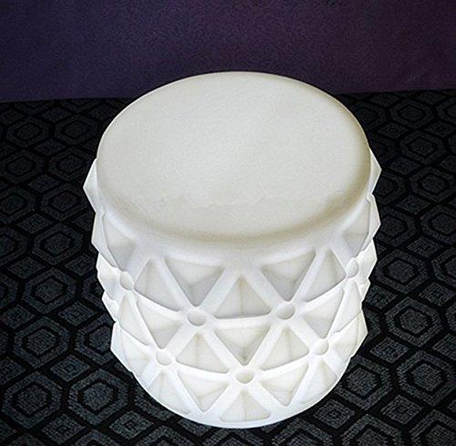 Gowe Touch Sensor IP65Wasserdicht bunten Wiederaufladbares PE Lumineux LED Barhocker der Fernbedienung LED Garten Sitze