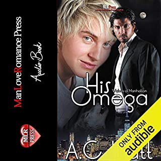 His Omega audiobook cover art
