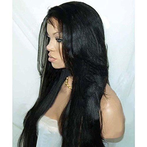 MZP La perruque en dentelle fait vraiment partie des ensembles de cheveux recouverts à la main de vrais ensembles de cheveux , 18 inches full hand