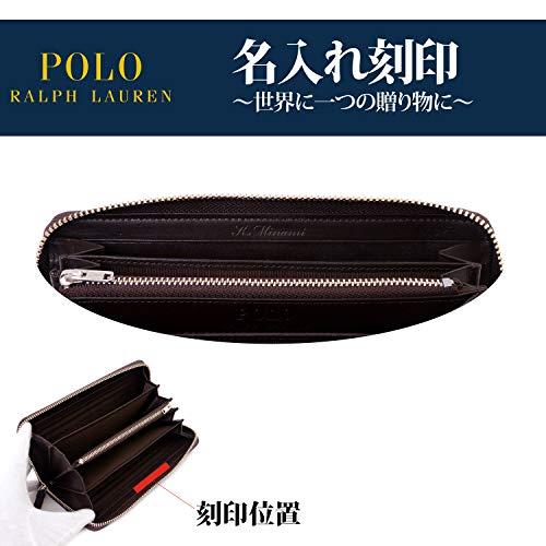 POLORalphLauren(ポロラルフローレン)『ラウンドファスナー長財布(P-225SL)』