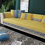 Fsogasilttlv Cubiertas de sofá Amarillo 90 * 180 cm, Funda de...