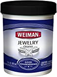 Weiman Jewelry Cleaner Liquid – ridona lucentezza e brillantezza all' Oro, Diamante, Platinum Jewelry & Pietre preziose – 7 FL. oz.