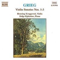 Grieg: Violin Sonatas Nos. 1-3 (1997-08-05)