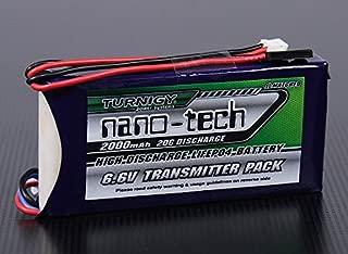 Turnigy Nano-tech 2000mAh 2S1P 20~40C LiFePo4 Transmitter Pack