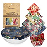 Reusable Beeswax Food Wrap, Zero Waste, Beeswax Wrap, Eco Friendly, Organic, Bees Wax Food Storage Wrappers Cling Sandwich, Alternative To Plastic Bags, Sustainable Products
