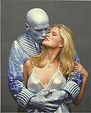 Batman Arnold Schwarzenegger as Mr. Freeze with Vendela K Thomessen as wife #2 - 8 x 10 Photo 004
