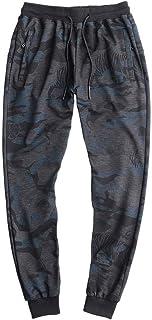ZOUYU Pantalones de Hombre de Talla Grande Fat 9XL 8XL 7XL Pantalones de chándal de Camuflaje Sueltos para Hombre Joggers ...