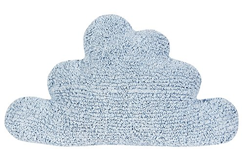 Happy Decor Kids hdk-cu-cl-bl Coussin lavable Cloud, bleu, 30 x 50 cm