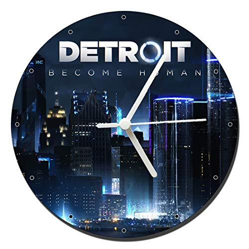 MasTazas Detroit Become Human B Horloge Murale Wall Clock 20cm