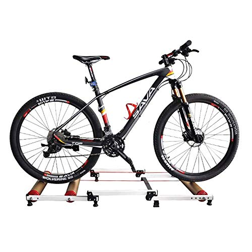 FUJGYLGL Estación de Bicicleta de Ejercicios Trainer MTB Camino de la Bicicleta Plegable Rodillo Indoor Cycling Trainer Formadores de Bicicletas