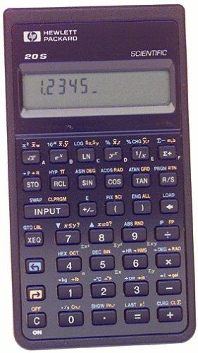 commercial HP Scientific Calculator HP20S hp scientific calculator