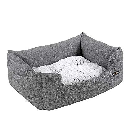 AUCH HUNDE HABEN ANSPRÜCHE: Wenn Ihr Hund sich nachts immer zu Ihnen ins Bett schleicht, ist sein aktueller Schlafplatz vielleicht zu ungemütlich und er will Sie darauf aufmerksam machen, dass er ein flauschiges Hundebett benötigt HERRLICH GEMÜTLICH:...