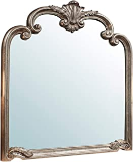 Miroirs muraux Miroir décoratif sculpté, doré Shabby Chic, Miroir Fait Main, Style Baroque rétro, Miroir de Maquillage de ...
