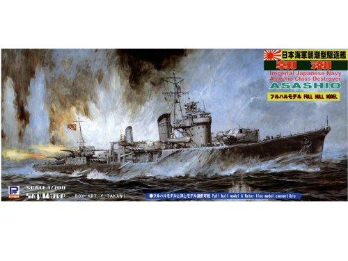 ピットロード 1/700 日本海軍 朝潮型 駆逐艦 朝潮 フルハルモデル W118