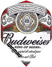 Art Attack Winmau Mega Budweiser King of Beers 75 Micron Strong Dart Flights (3 Sets)