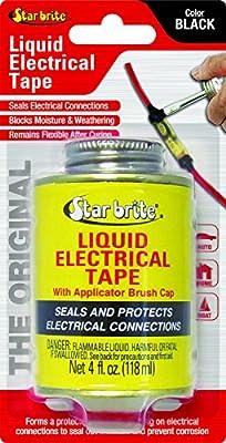 Star brite Liquid Electrical Tape - 4 oz Can w/Brush Applicator