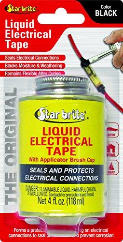 Star Brite 084104B Liquid Electrical Tape - 4 oz., Black