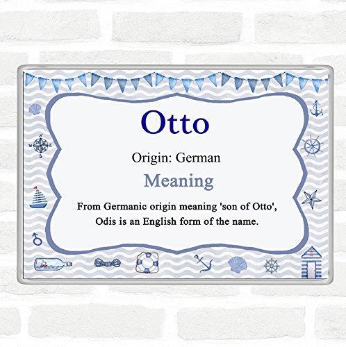 Otto Name Meaning Jumbo Koelkast Magneet Nautisch