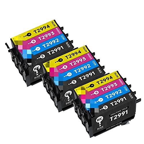 Cartucho de Tinta para EPSON XP 235 245 332 335 432 432 435 435 442 345 255 257 352 355 452 455 Cartuchos de la Impresora T29 (Color : 3 Set)