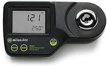 ابزار میلواکی MA871 Refractometer دیجیتال بریکس، محدوده 0-85٪