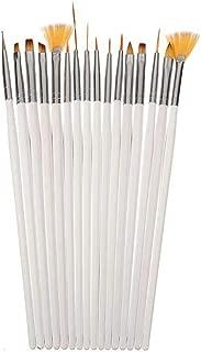 Muranba 16pcs Nail Brush Brushes Set Nail Polish Gel Art Paint Design Pen Tools Makeup