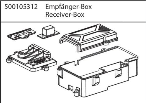 Carson 500105312 - X10NB/NT Empfänger-Box
