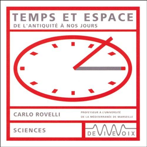 Couverture de Temps et espace - De l'antiquité à nos jours