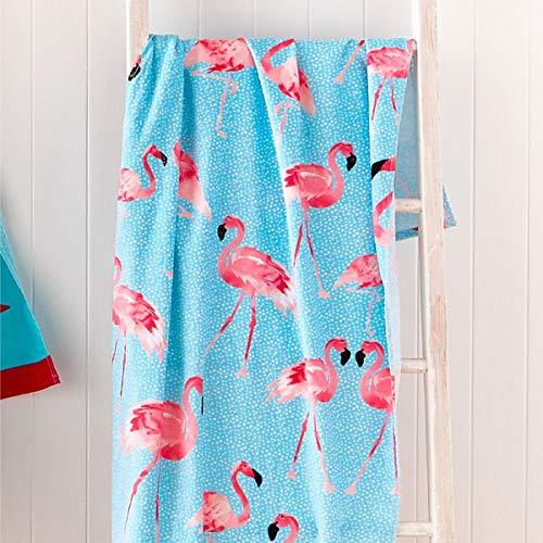 Catherine Lansfield - Toalla de Playa con diseño de piña, algodón, 160 x 76 x 0.4 cm