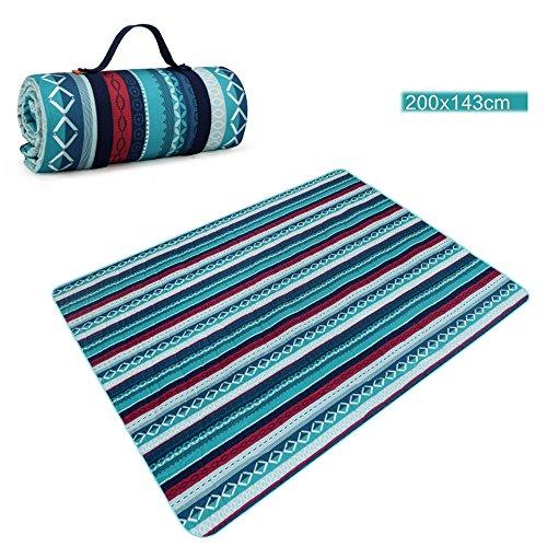 COCO Bohemian stijl outdoor machine wasbare picknick mat 5mm dik Oxford doek mat lente reismat Bohemian style