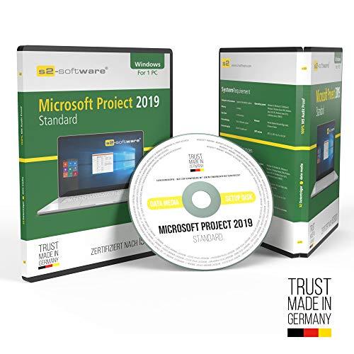Microsoft® Project 2019 Standard DVD mit original Lizenz. Papiere & Lizenzunterlagen von S2-Software GmbH & Co. KG