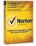 Symantec Norton AntiVirus 2012, 5u, WIN, FRE - Seguridad y antivirus (5u, WIN, FRE, 5 usuario(s), 200 MB, 256 MB, 300 MHz, Windows XP Home SP2+ (32-bit) Windows XP Professional SP2+ (32-bit))