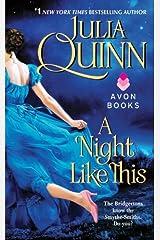 A Night Like This (Smythe-Smith Quartet Book 2) Kindle Edition