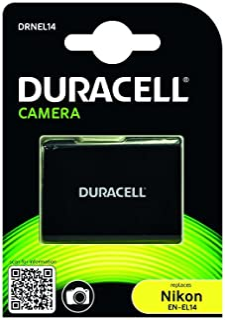 Duracell DRNEL14 - Batería para cámara Digital 7.4 V 950 mAh (reemplaza batería Original de Nikon EN-EL14)