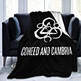 Coheed & Cambria Flannel Blanket Super Soft and Comfortable Sofa Bedding to Keep Warm and Luxurious Anti-Pilling 50'x40'