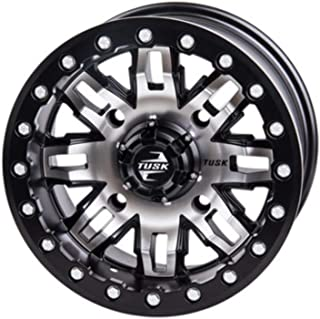 4/137 Teton Beadlock Wheel 15x7 5.0 + 2.0 Machined/Black for Honda Talon 1000X-4 Fox Live Valve 2020