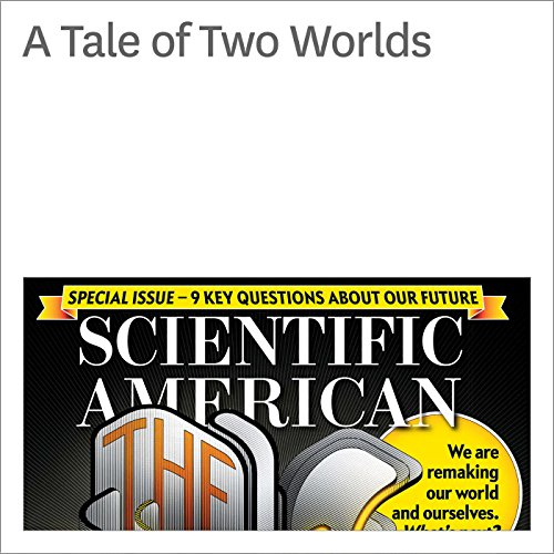 A Tale of Two Worlds audiobook cover art