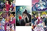 Ceaco Disney Villains 5 in 1 Multipack Jigsaw Puzzles, (2) 300 Pieces, (2) 500 Pieces, (1) 750 Pieces