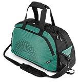 Yoga EVO Bolsa de para Yoga y Gimnasio, Verde (Duffle Bag Green), 2018