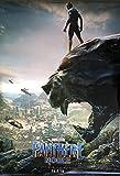 BLACK PANTHER (2017) Original Authentic Movie Poster 27x40 - Dbl-Sided - French Version - Chadwick Boseman - Andy Serkis - Michael B Jordan - Lupita Nyong'