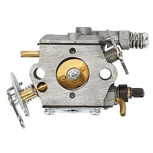 Carbería de carburador Compatible con Partner 350 351 Poulan 2050 McCulloch Walbro WT-89 Motosierra Carber Bomba aceleradora Carburador