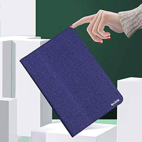 Hannuo TAB3 8.0 para Samsung Galaxy Tab 3 8.0 T310 T311 T315 SM-T310 SM-T311 Funda WiFi PU Funda de Cuero con Tapa para Tableta Funda de Silicona Suave-Azul Marino_China_T310