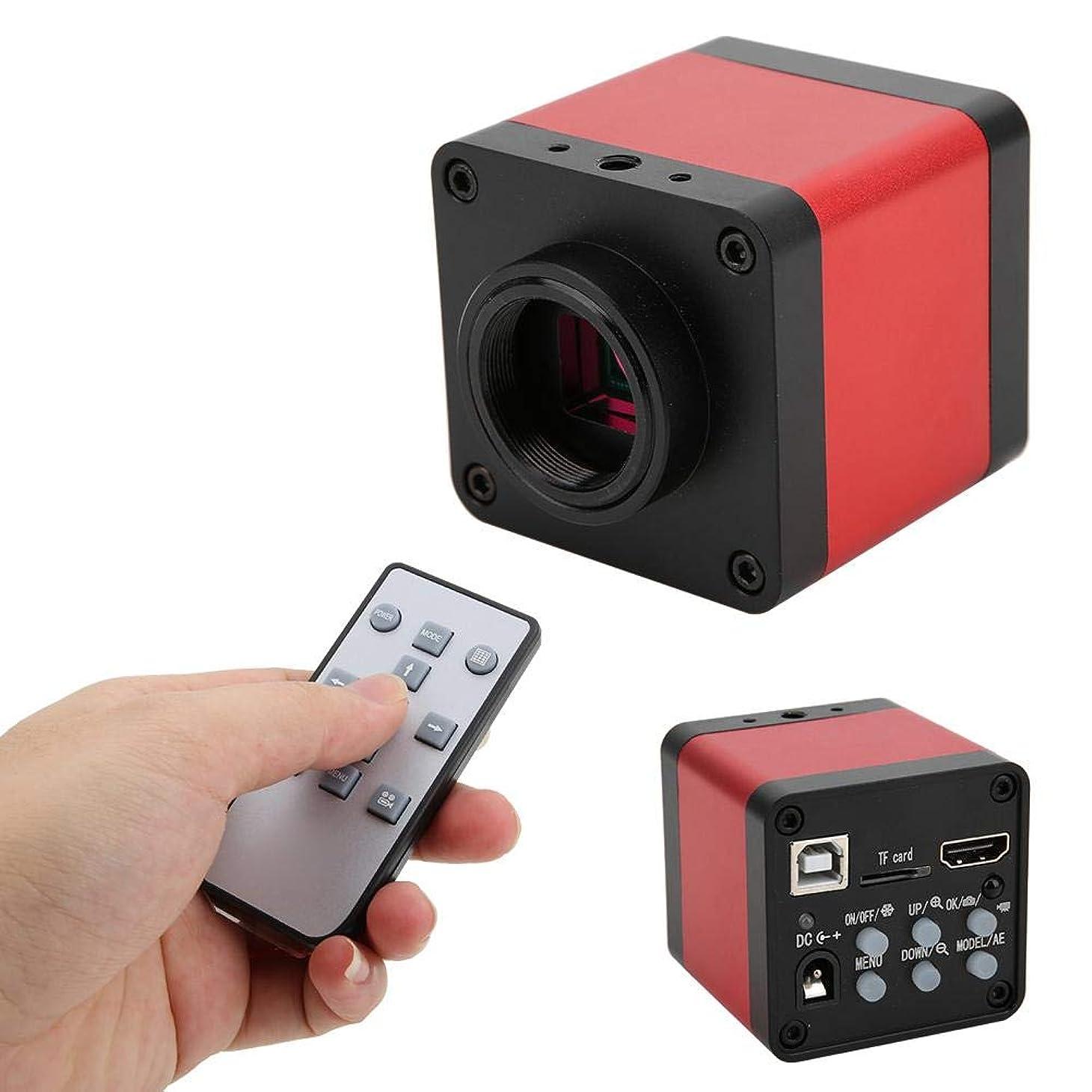 ダウンタウン粗いキャスト耐久性のある48MP顕微鏡カメラ、顕微鏡カメラ、システム溶接電話の修理のためのデジタルズームDC12Vサポート(100-240V, U.S. standard)