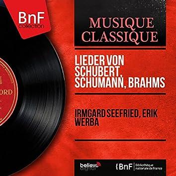 Lieder von Schubert, Schumann, Brahms (Mono Version)